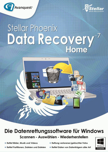 Stellar Phoenix Data Recovery 7 Home, ESD (Down...