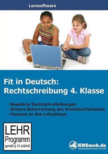 Verpackung von Fit in Deutsch Rechtschreibung 4. Klasse [PC-Software]