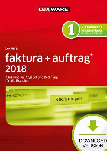 Verpackung von Lexware faktura+auftrag 2018 Jahresversion (365-Tage) [PC-Software]