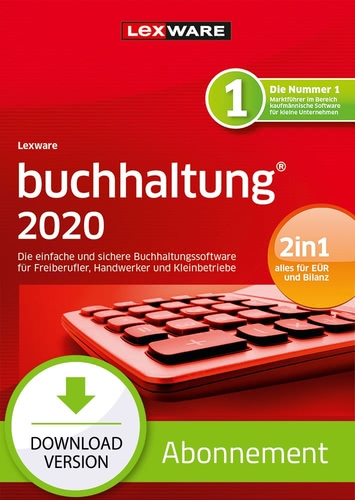 Verpackung von Lexware buchhaltung 2020 - Abo Version [PC-Software]