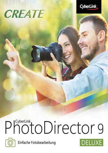 PhotoDirector 9 Deluxe (Download), PC