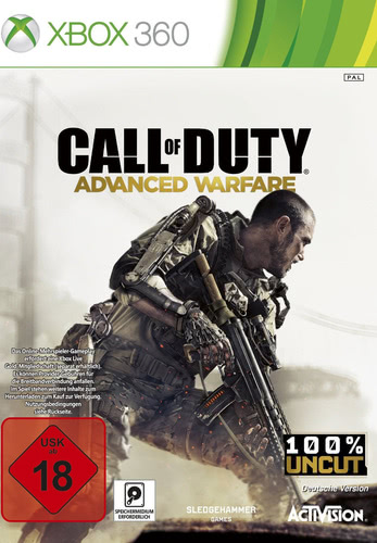 Verpackung von Call of Duty: Advanced Warfare [Xbox 360]