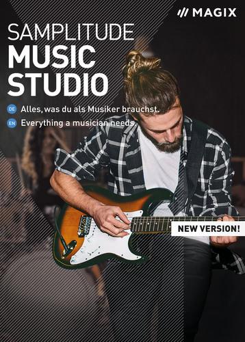 Verpackung von MAGIX Samplitude Music Studio 2020 [PC-Software]
