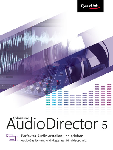 Verpackung von AudioDirector 5 Ultra [PC-Software]