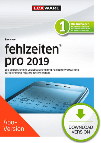 fehlzeiten pro 2019 Download – Abo Version (Download), PC