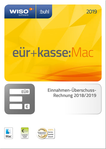 WISO EÜR & Kasse:Mac 2019 (Download), MAC