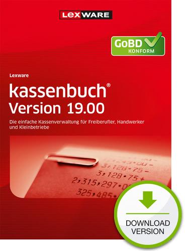 Verpackung von Lexware kassenbuch Version 19.00 (2020) Download Jahresversion (365-Tage) [PC-Software]