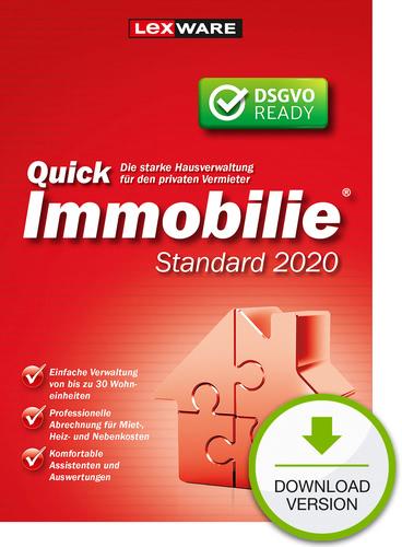Verpackung von Lexware QuickImmobilie Standard 2020 [PC-Software]