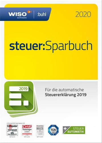 Verpackung von WISO steuer:Sparbuch 2020 (für Steuerjahr 2019) [PC-Software]