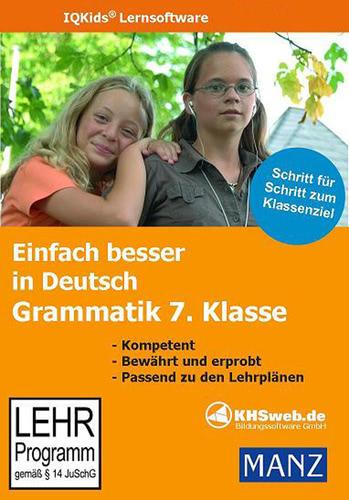 Verpackung von Einfach besser in Deutsch Grammatik 7. Klasse [PC-Software]