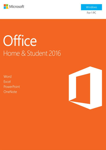 Packaging by Office Home and Student 2016 [PC-software]