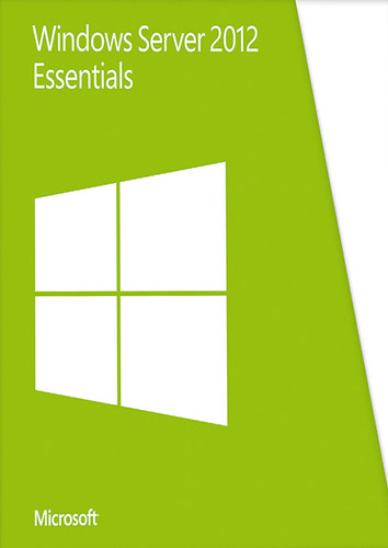 Verpackung von Microsoft Windows Server Essentials 2012 R2 64Bit [PC-Software]