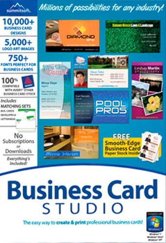 Packaging by Business Card Studio [PC-software]