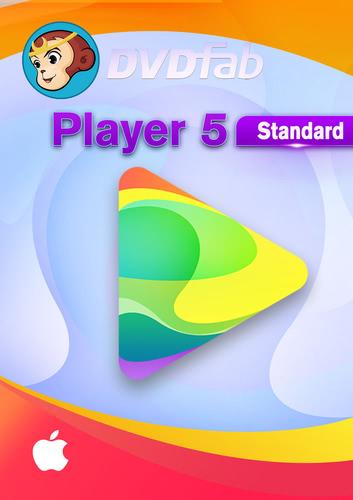 Verpackung von DVDFab Player 5 für MAC - 24 Monate (24 Monate) [Mac-Software]