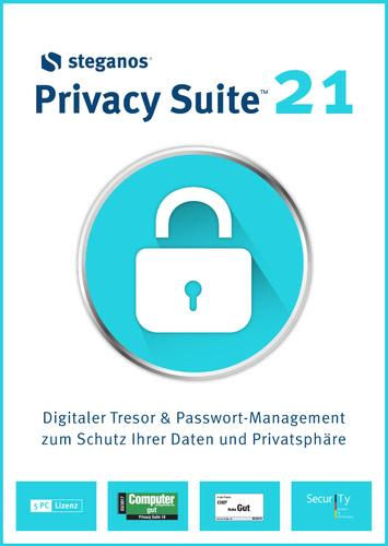 Verpackung von Steganos  Pivacy Suite 21 [PC-Software]