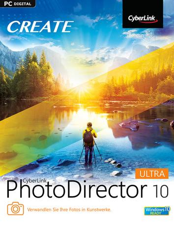 Verpackung von PhotoDirector 10 Ultra [PC-Software]