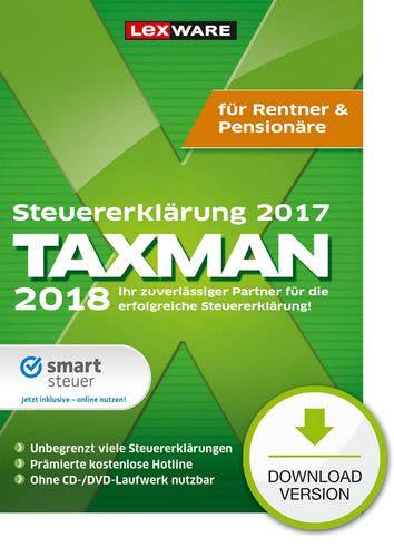 TAXMAN 2018 Rentner & Pensionäre