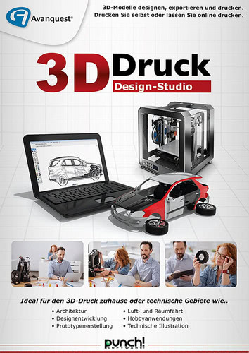 3D-Druck Design-Studio, (Box), Multi