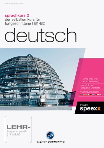 Verpackung von Sprachkurs 2 Deutsch [PC-Software]