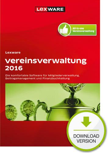 Verpackung von Lexware vereinsverwaltung 2016 [PC-Software]