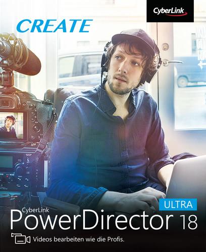 Verpackung von PowerDirector 18 Ultra [PC-Software]