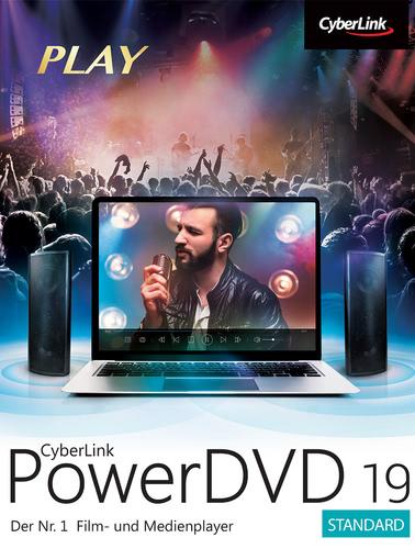 Verpackung von Cyberlink PowerDVD 19 Standard [PC-Software]