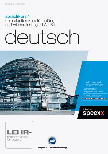 Verpackung von Sprachkurs 1 Deutsch [PC-Software]