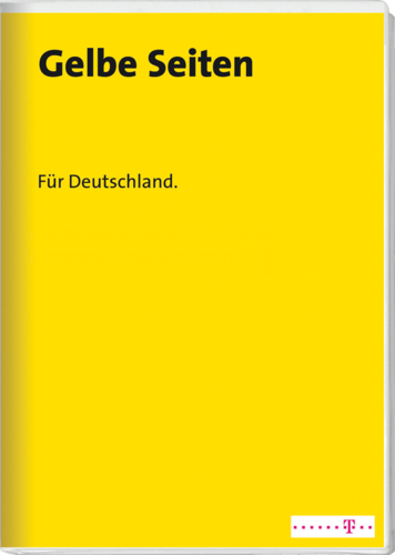 Verpackung von Gelbe Seiten Deutschland Herbst/Winter 2015/16 [PC-Software]