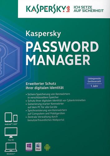 Kaspersky Passwort Manager