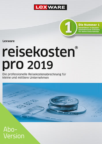 Verpackung von Lexware reisekosten pro 2019 Download - Abo Version [PC-Software]