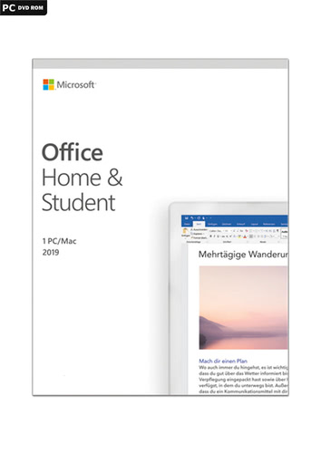 Microsoft Office Home & Student 2019, (Box), PC