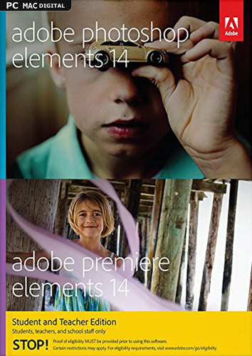 Adobe Photoshop Elements 14 & Premiere Elements 14 – Student and Teacher Edition