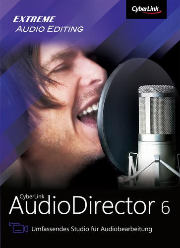 Verpackung von AudioDirector 6 Ultra [PC-Software]