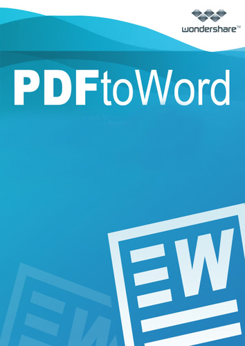 Packaging by Wondershare PDF to Word Converter (Version 2017) - Lifetime License [PC-software]