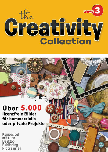 Verpackung von Creativity Collection Volume 3 [PC-Software]