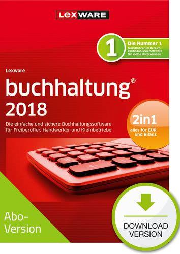 Verpackung von Lexware buchhaltung 2018 Download - Abo Version [PC-Software]