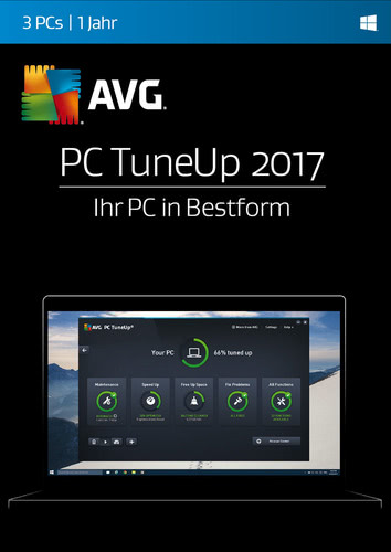AVG PC TuneUp 2017 3 PC / 12 Monate