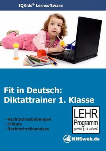 Verpackung von Fit in Deutsch - Diktattrainer - Klasse 1 [PC-Software]