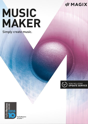 Packaging by Magix Music Maker (2017) [PC-software]