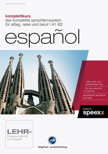Komplettkurs Español, ESD (Download) (PC)