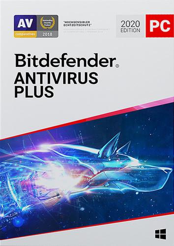 Verpackung von Bitdefender Antivirus Plus -  1 Gerät / 12 Monate [PC-Software]