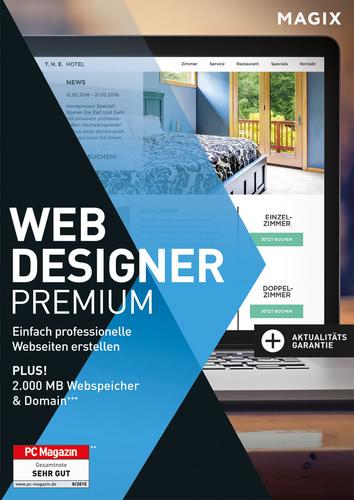 Verpackung von Magix Web Designer 12 Premium [PC-Software]
