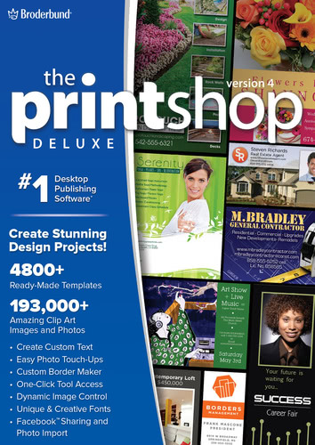 Printshop 4 Deluxe (Download), PC