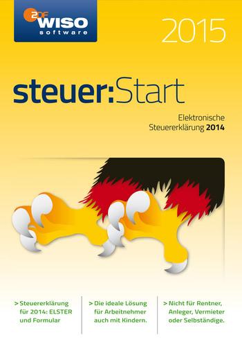 Verpackung von WISO Steuer: Start  2015 (für Steuerjahr 2014) [PC-Software]