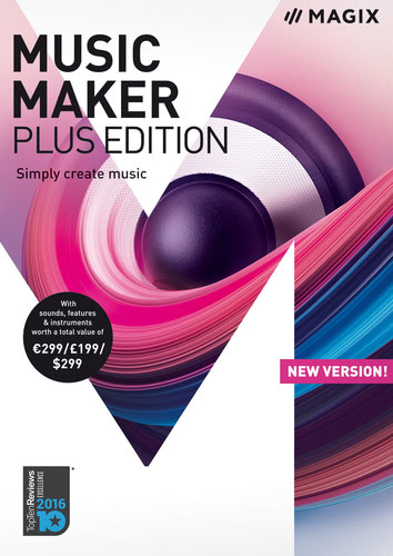 Packaging by Magix Music Maker Plus Edition (2018) [PC-software]