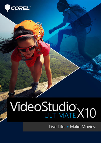 Packaging by Corel VideoStudio Ultimate X10 [PC-software]