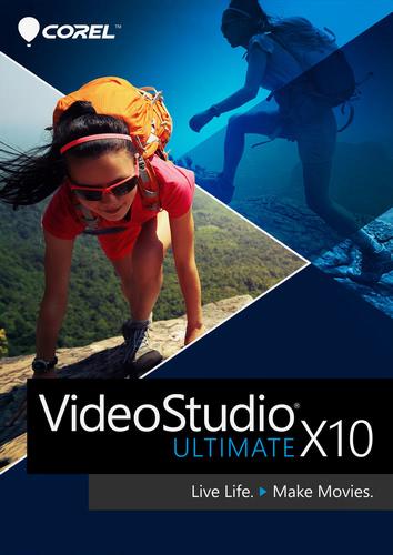 Verpackung von Corel VideoStudio Ultimate X10 [PC-Software]