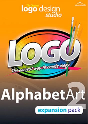 Packaging by Logo Design Studio Expansion Pack: Alphabet Art 2 [PC-software]