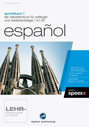 Verpackung von Sprachkurs 1 Español [PC-Software]