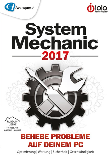 Verpackung von iolo technologies System Mechanic 2017 [PC-Software]